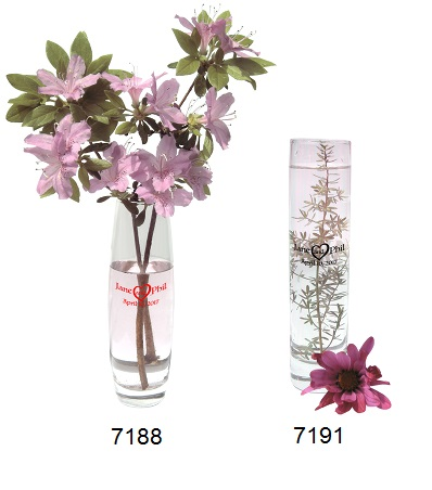 Personalized Bud Vases Custom Wedding