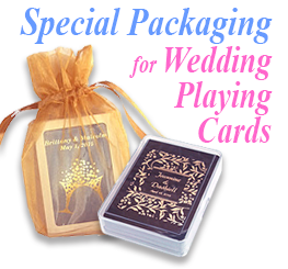 Personalized Wedding Playing Card Special Packaging